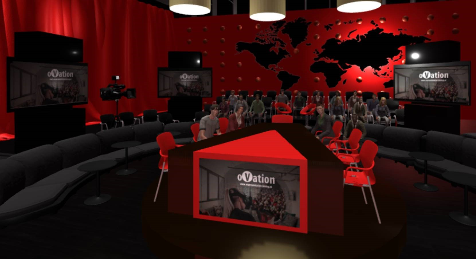 tvstudio ovation - Virtual Reality Presentatietraining