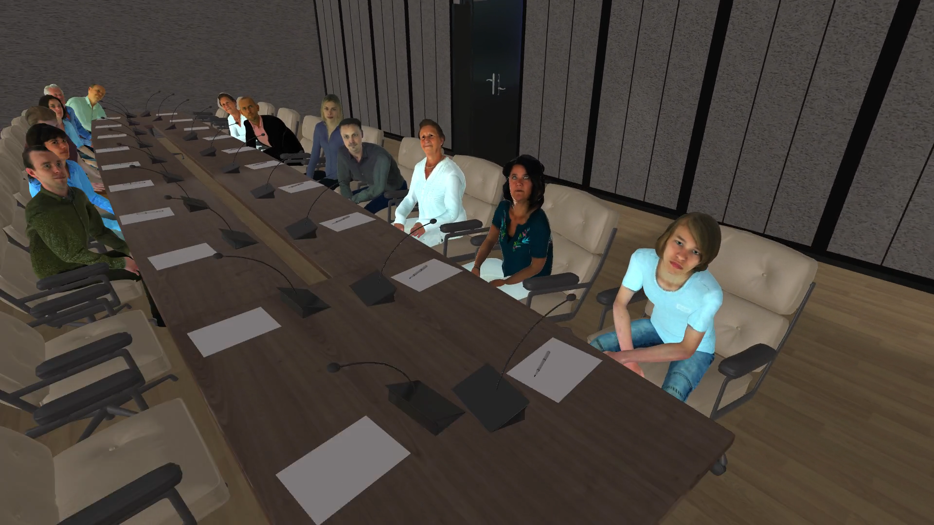 LuxeMeetingRoom - Virtual Reality Presentatietraining