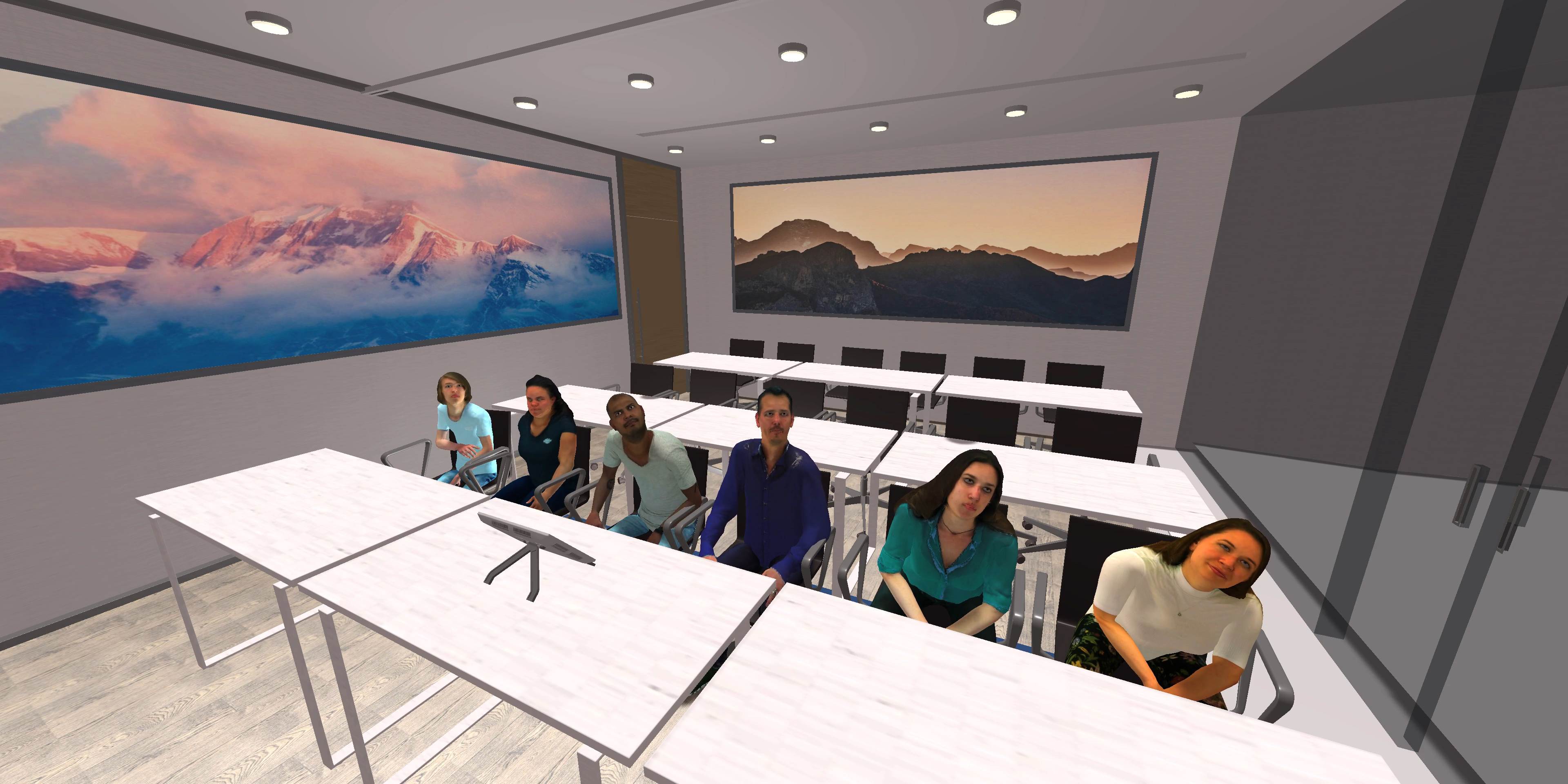 TrainingsClassRoom - Virtual Reality Presentatietraining