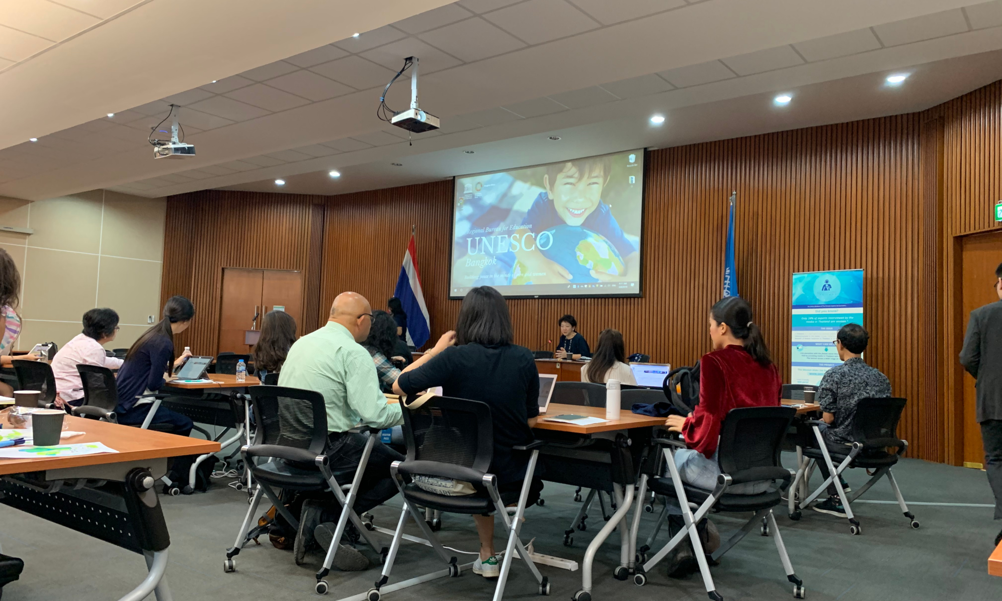 UNESCO CoVince - UNESCO interested in 'Presenting with Impact' training & research results